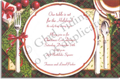 Product Image For Christmas Place Setting